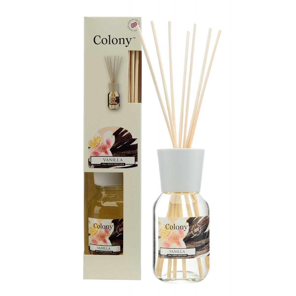 Vanilla 120ml Reed Diffuser