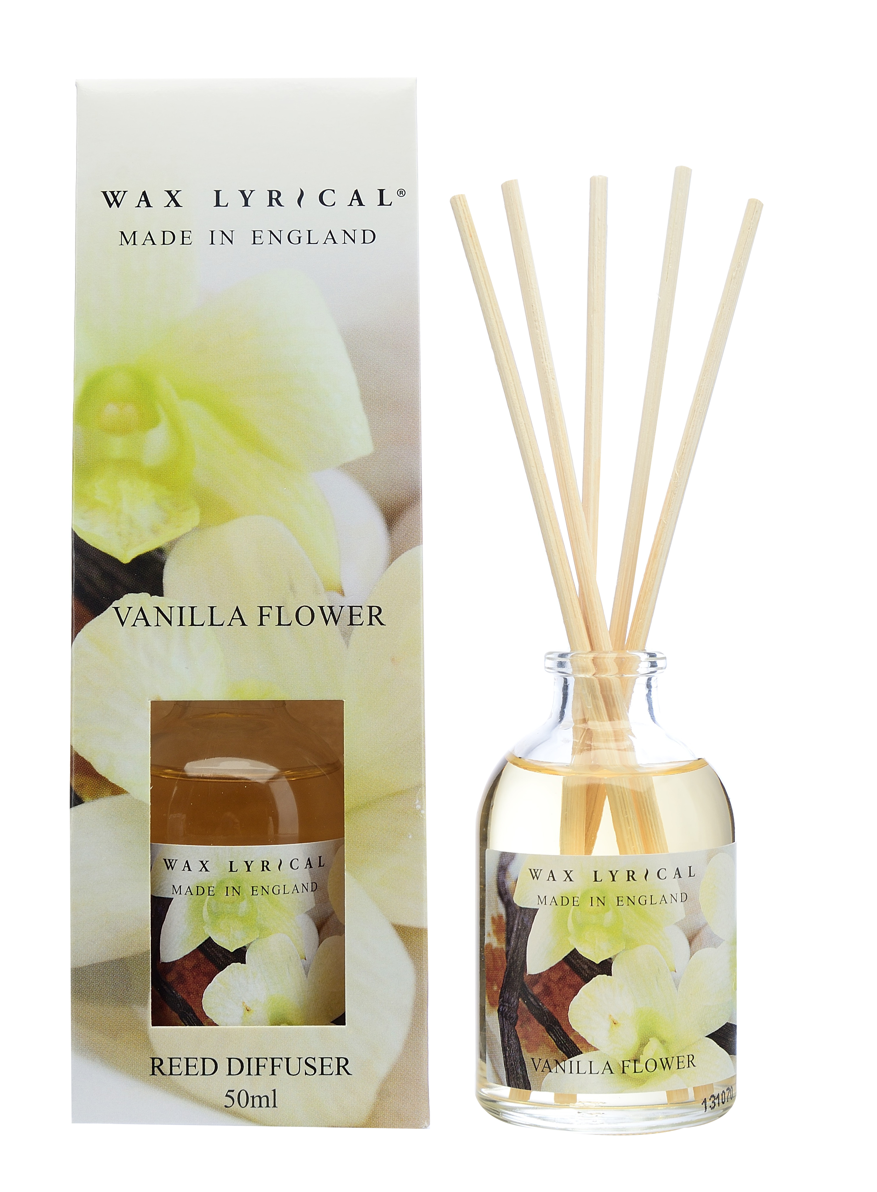 Made in England   Vanilla Flower 50ml Reed Diffuser ...