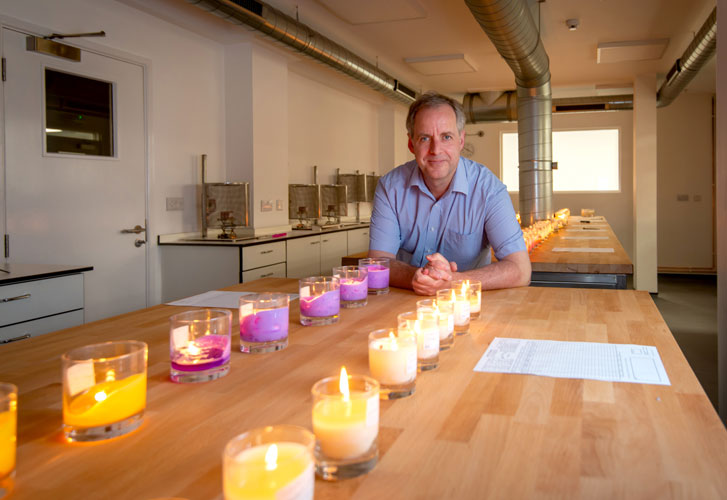 Meet Dr. Will, our resident scientist and home fragrance expert