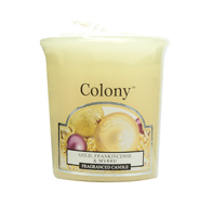 Colony Gold, Frankincense and Myrrh Scented Votive Candle Refill