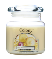Colony Gold, Frankincense and Myrrh Classic Scented Candle Jar