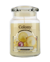 Colony Gold, Frankincense and Myrrh Large Scented Candle Jar