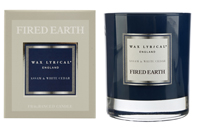 Fired Earth Assam and White Cedar Gift Boxed Scented Candle