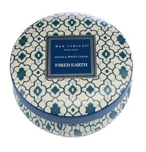 Woad Blue Fired Earth home fragrance