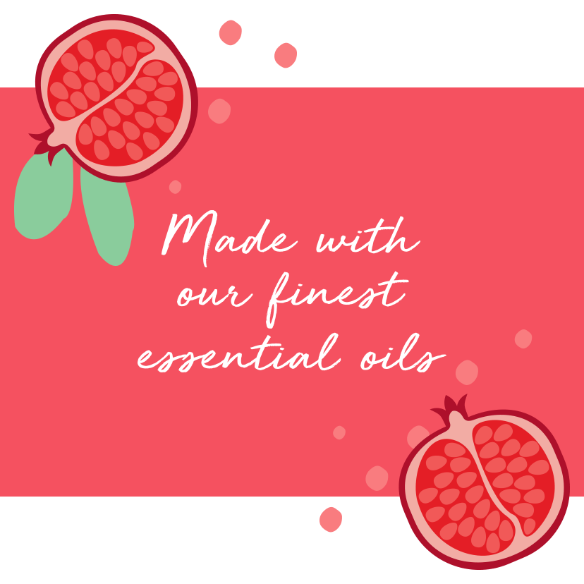 Made with our finest essential oils.