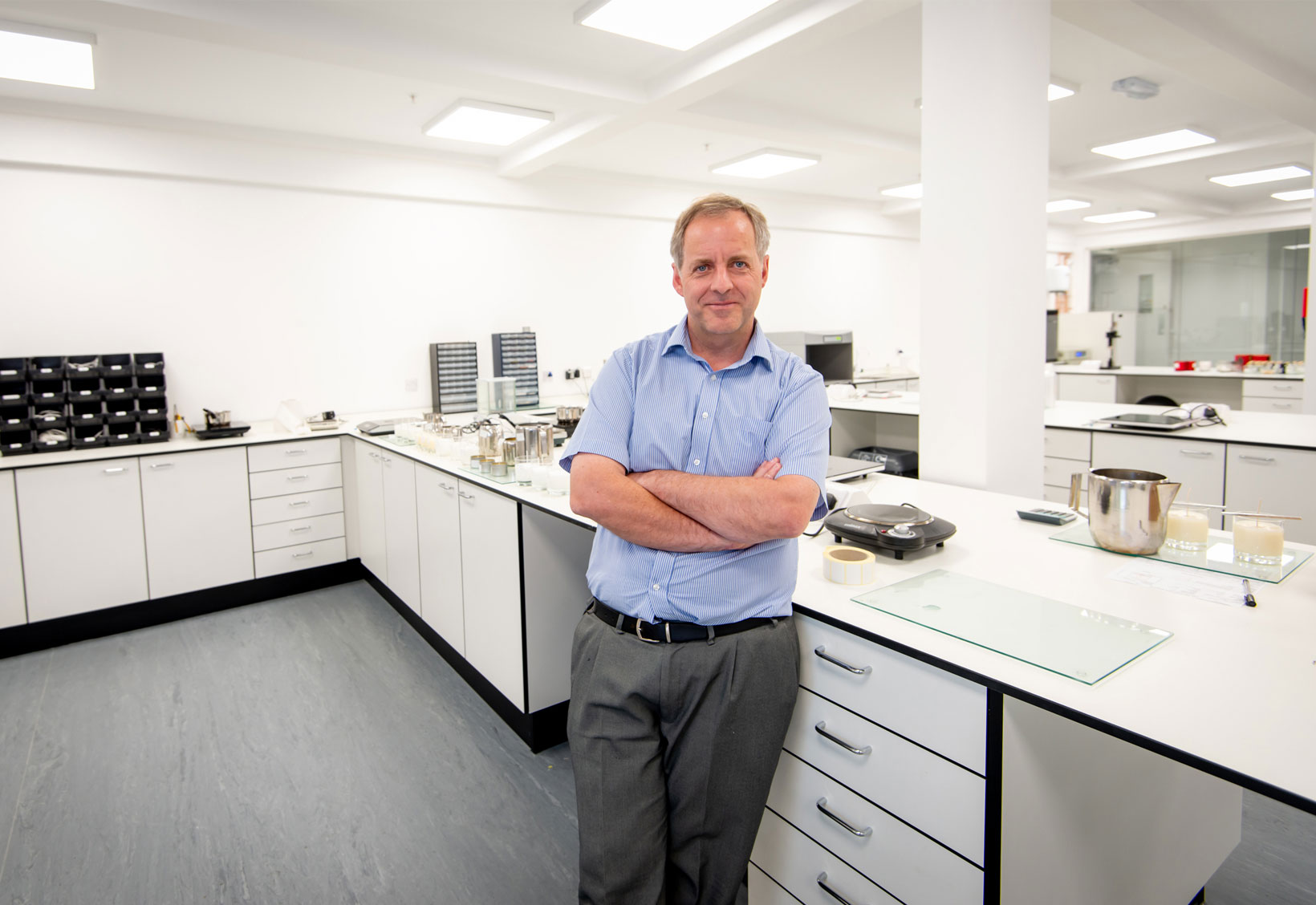 We're home to a state-of-the-art laboratory