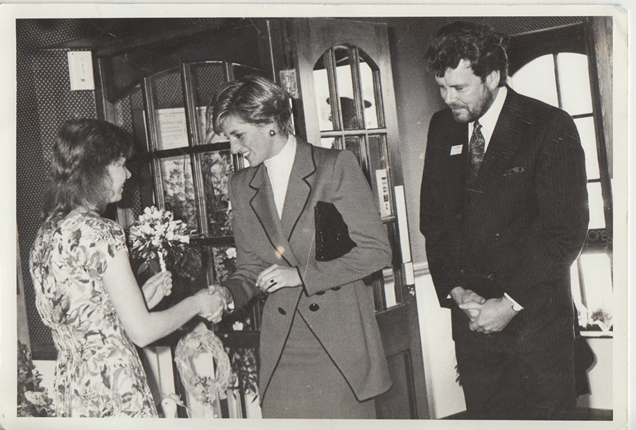 Princess Diana opened our offices in Lindal-in-Furness