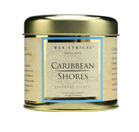 Fragrant Escapes Caribbean Shores Scented Candle Tin