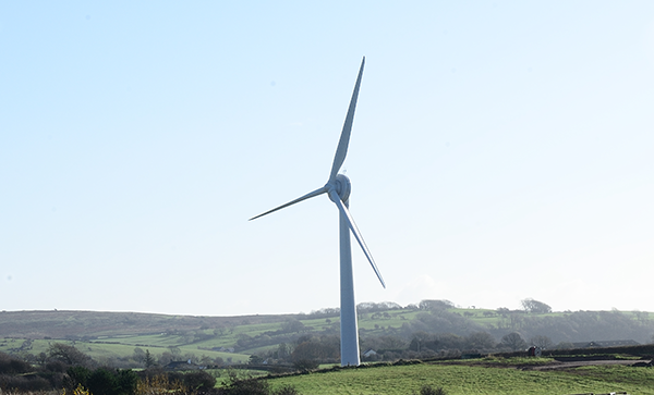 Wax Lyrical onsite wind turbine
